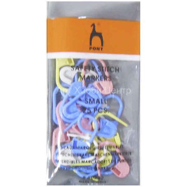 купить набор маркеров для вязания 25шт Pony в москве арт хобби центр
